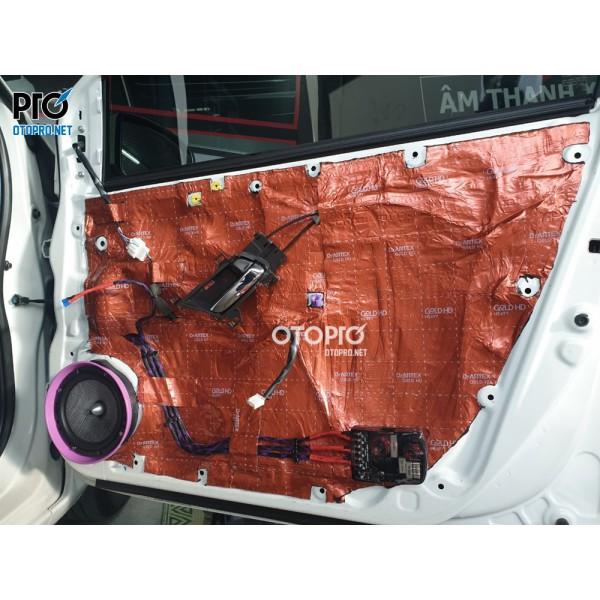 Honda City 2017 nâng cấp chống ồn Dr Artex