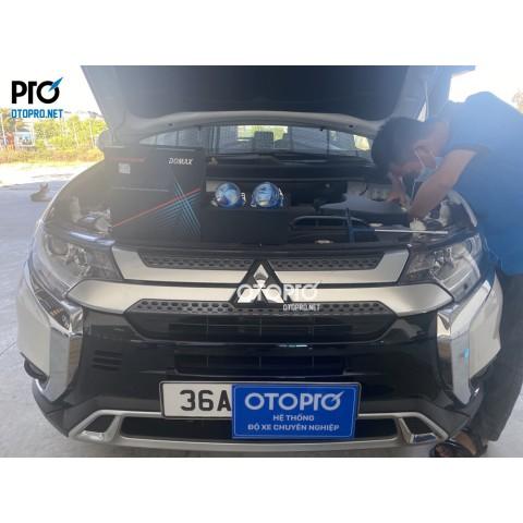 Mitsubishi Outlander độ bi led Domax Pro