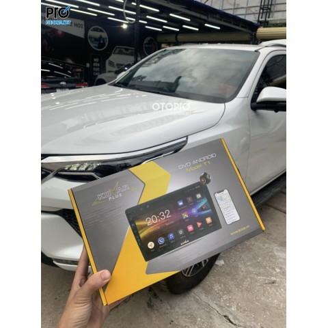 Toyota Fortuner 2021 lắp màn hình Kovar Plus