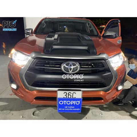 Toyota Hilux 2021 bản 2.4 bóng độ bi Led Titan