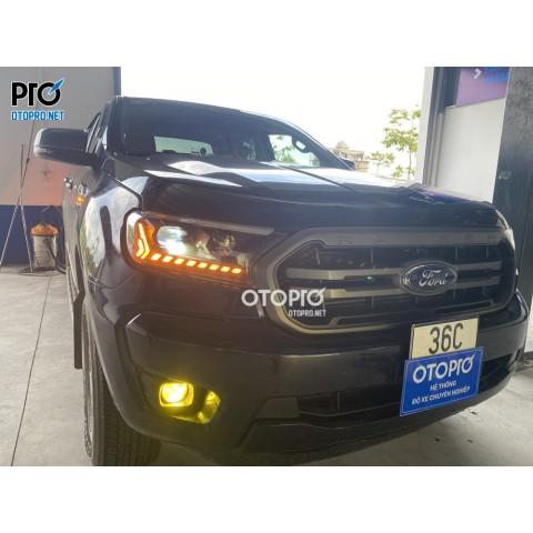 Ford Ranger nâng cấp bi led X-Light