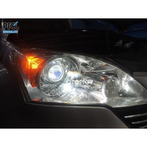Honda Crv 2009 nâng cấp bi laser X-Light V20l