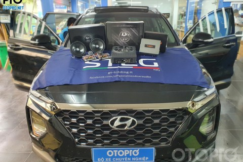 3 cách độ âm thanh Hyundai Santafe cho người mới