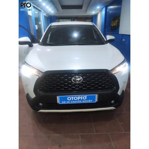 Toyota Corolla Cross nâng cấp bi Led X light V20