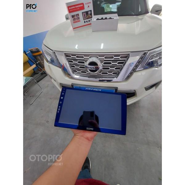 Nissan Terra lắp đặt Màn Hình Liền Camera 360 OLED Pro X8S