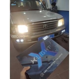 Toyota Land Cruiser độ 2 cặp Bi Led gầm Xlight F10