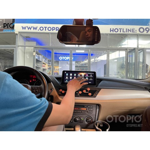 BMW X1 2011 lắp màn hình Android
