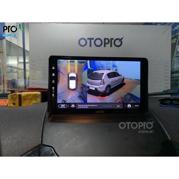 Ford Ecosport 2016 lắp màn hình Kovar Plus 360