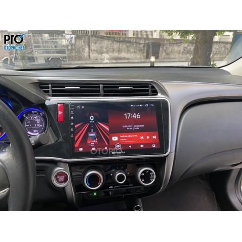 Honda City 2015 lắp màn hình android Gotech GT6 New