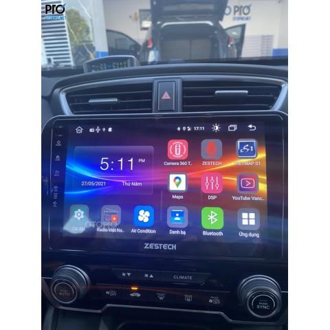 Honda CRV 2019 lắp đặt màn hình Zestech Z800+