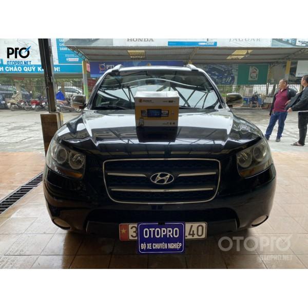 Hyundai Santafe 2010 lắp màn hình Zestech z800pro