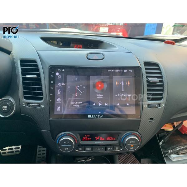 Kia Cerato 2017 lắp màn hình liền camera 360 Elliview S4