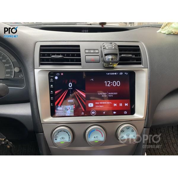 Toyota Camry LE 2007 nâng câp màn Gotech GT10 Pro
