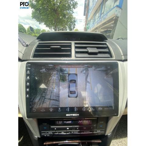 Toyota Camry lắp màn hình android Gotech GT360