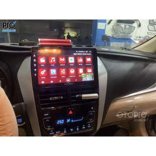 Toyota Vios 2020 lắp màn hình Gotech GT8MAX