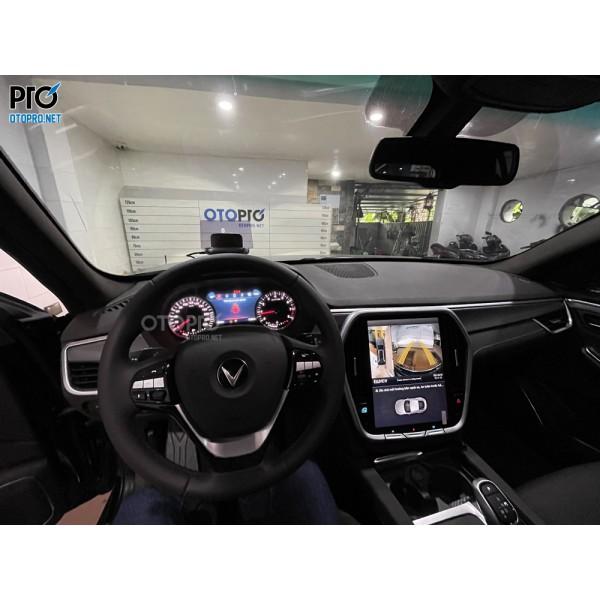VinFast Lux SA lắp màn hình Android - Camera 360 Elliview - HUD H1N hiển thị đồ hồ vận tốc