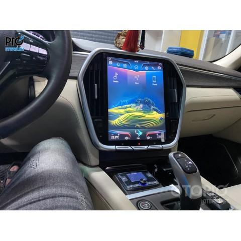 VinFast Lux SA lắp màn hình Android