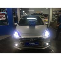 Hyundai i10 độ Bi Led X-Light V20