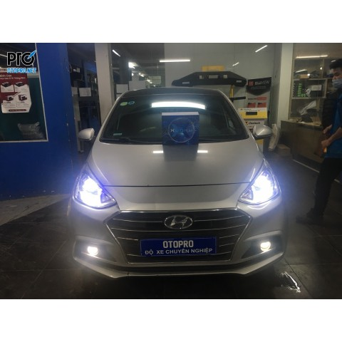 Hyundai i10 độ Bi Led X-Light V20