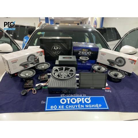 Hyundai Santafe 2020 nâng cấp hệ thống âm thanh loa Focal