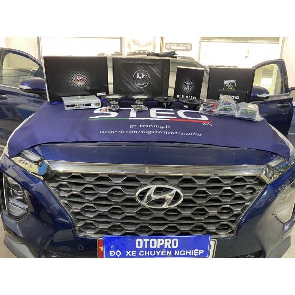 Hyundai SantaFe 2020 nâng cấp cấu hình âm thanh loa DLS