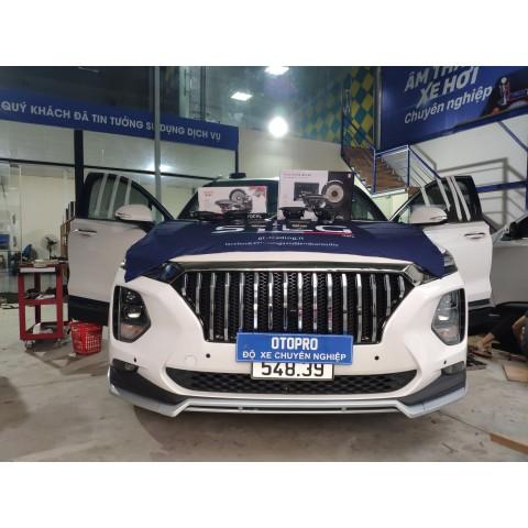 Hyundai SantaFe 2020 nâng cấp cấu hình âm thanh loa Focal