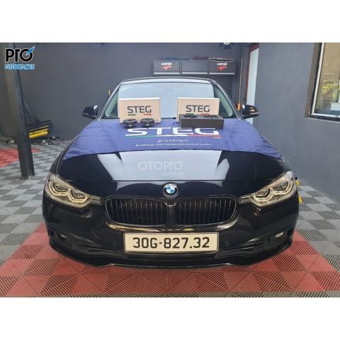 BMW 320i 2016 nâng cấp hệ thống âm thanh loa STEG BM4