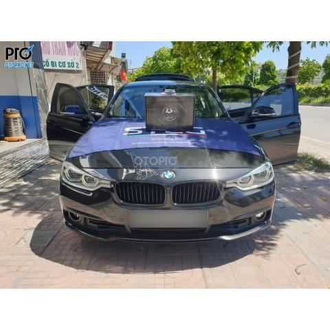 BMW 320i 2016 lắp loa sub điện DLS ACW10