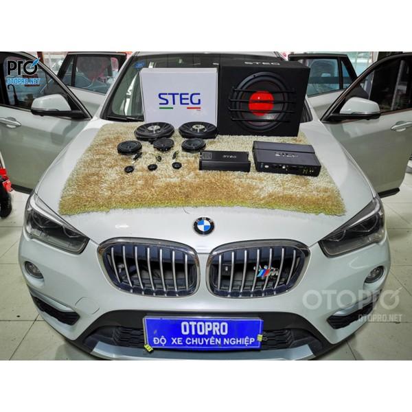 BMW X1 nâng cấp hệ thống âm thanh loa STEG