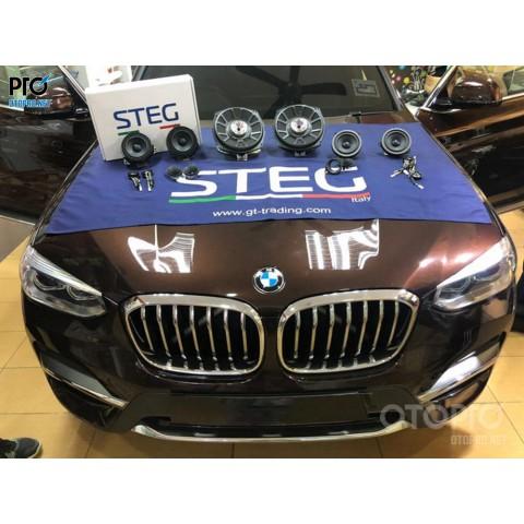 BMW X3 nâng cấp hệ thống âm thanh loa STEG