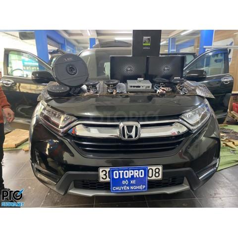 Honda CR-V 2019 nâng cấp cấu hình âm thanh 2-way DLS
