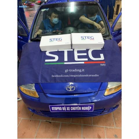 Daewoo Matiz 2007 nâng cấp hệ thống loa STEG