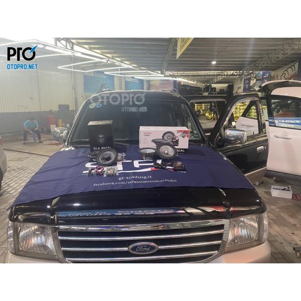 Ford Everest 2005 nâng cấp hệ thống âm thanh loa Focal 165 AS