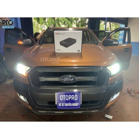 Ford Ranger 2016 lắp loa sub điện Nakamichi NBF8.1A