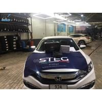 Honda Civic nâng cấp loa sub DLS ACW10