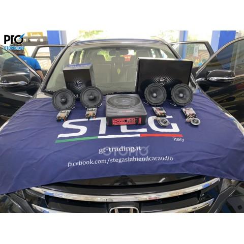 Honda CR-V 2014 nâng cấp hệ thống âm thanh loa DLS MB6.2