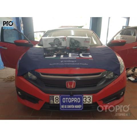 Honda Civic 2018 nâng cấp hệ thống âm thanh loa Focal