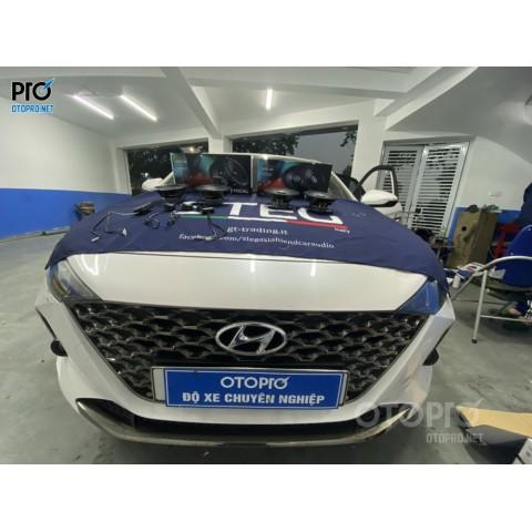 Hyundai Accent 2021 nâng cấp hệ thống âm thanh loa Focal