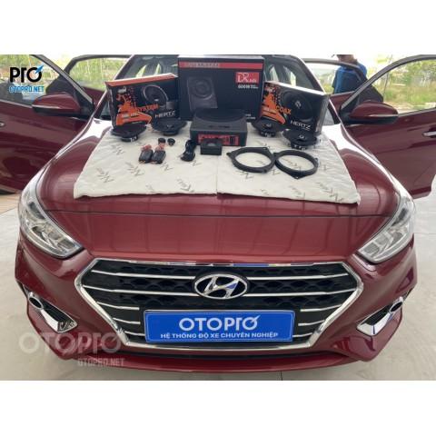 Hyundai Accent nâng cấp hệ thống âm thanh loa Hertz
