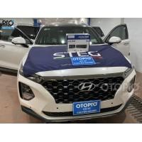 Hyundai Santafe 2020 lắp đầu đọc Alpine UTX M08