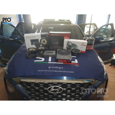 Hyundai Santafe 2020 nâng cấp hệ thống âm thanh loa Focal,DRaudio
