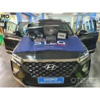 Hyundai Santafe 2020 nâng cấp hệ thống âm thanh loa DLS