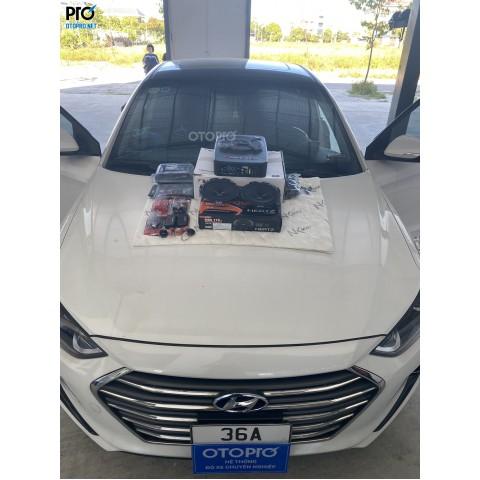 Độ loa Hyundai Elantra với cầu hình âm thanh loa Hertz DSK 170.3