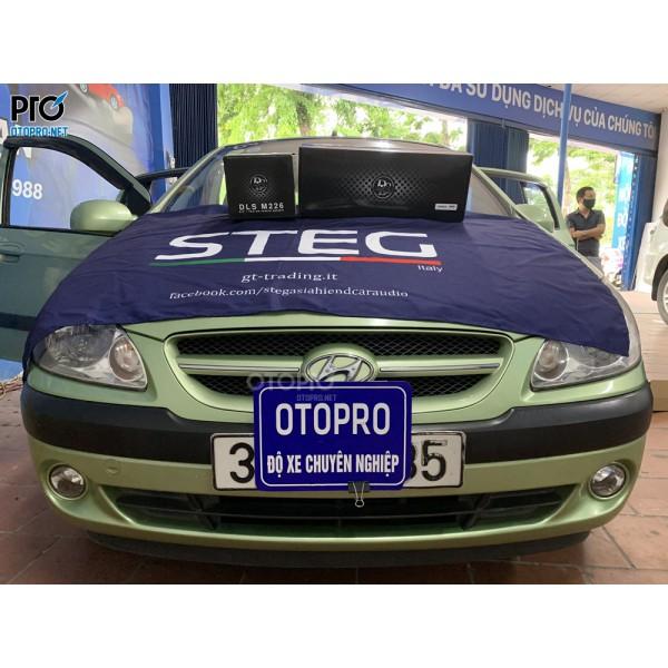Hyundai Getz 2010 nâng cấp hệ thống loa DLS Mk6.2i