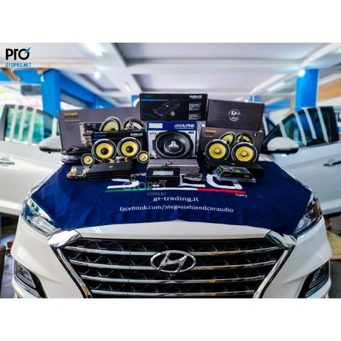 Độ loa Hyundai Tucson 2020 với cấu hình âm thanh Focal ES 165 KX3