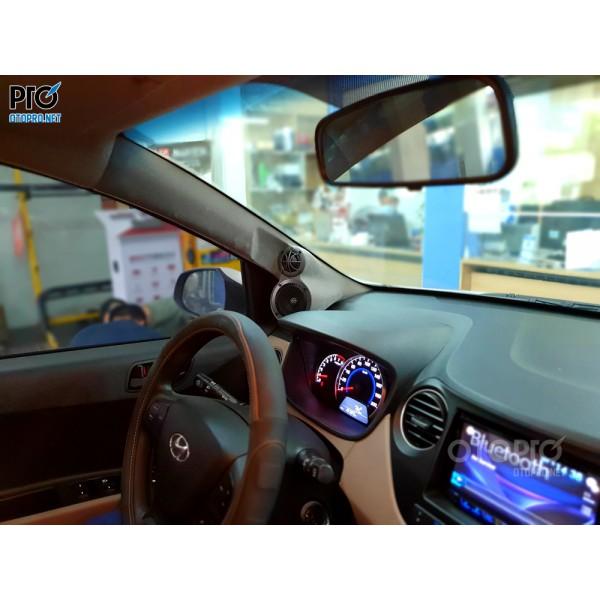 Hyundai i10 nâng cấp hệ thống âm thanh loa 3-way DLS Scandinavia