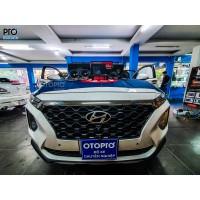 Hyundai Santafe 2020 nâng cấp hệ thống âm thanh loa DLS RC6.2Q