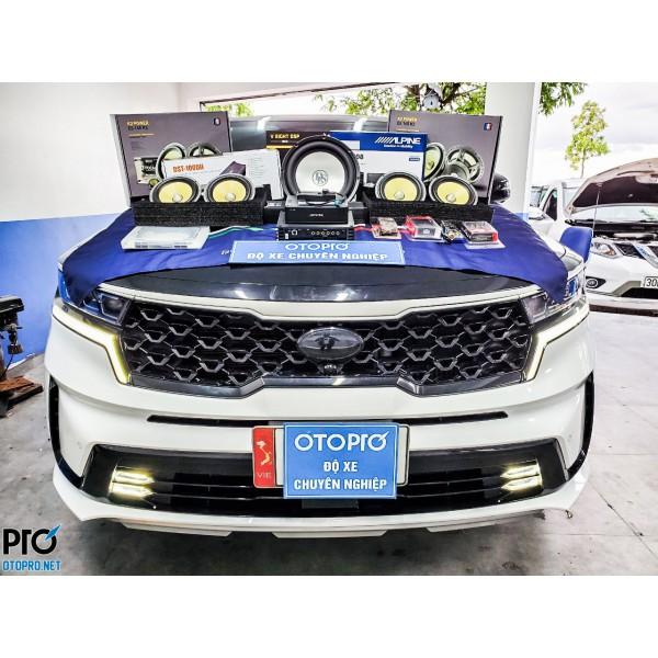 Kia Sorento 2021 nâng cấp hệ thống âm thanh loa Focal ES 165 K2