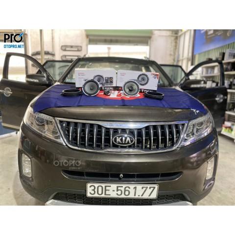 Kia Sorento 2014 nâng cấp hệ thống âm thanh loa Focal 165 V1