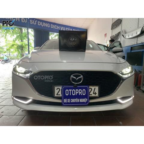 Mazda 3 2021 nâng cấp loa sub điện DLS ACW10
